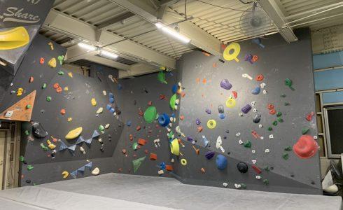 Bouldering Gym Share